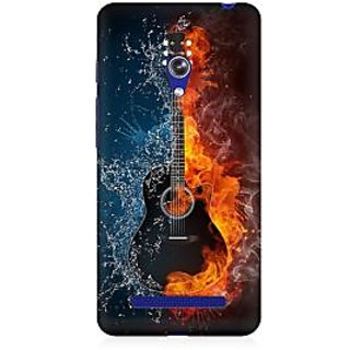 RAYITE Guitar Premium Printed Mobile Back Case Cover For Asus Zenfone 5