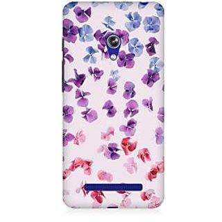 RAYITE Watercolor Flower Hub Premium Printed Mobile Back Case Cover For Asus Zenfone Go