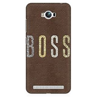 RAYITE Boss Premium Printed Mobile Back Case Cover For Asus Zenfone Max