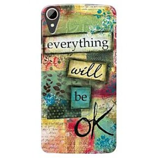HACHI Premium Printed Cool Case Mobile Cover For HTC Desire 830