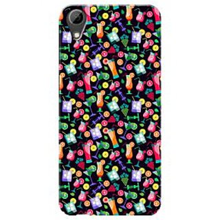 HACHI Premium Printed Cool Case Mobile Cover For HTC Desire 626s