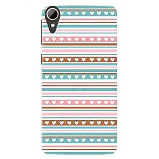 HACHI Premium Printed Cool Case Mobile Cover For HTC Desire 830