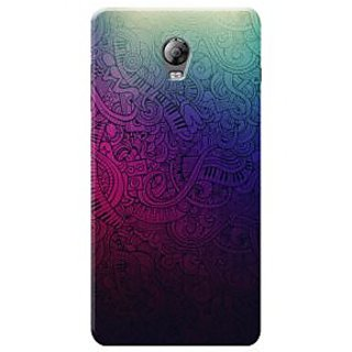 HACHI Premium Printed Cool Case Mobile Cover For Lenovo Vibe P1