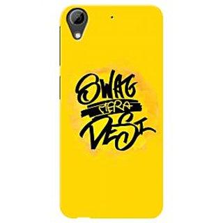 HACHI Premium Printed Cool Case Mobile Cover For HTC Desire 628