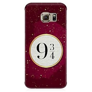 RAYITE Platform 9 3/4 Premium Printed Mobile Back Case Cover For Samsung S7