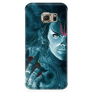 RAYITE Lord Shiva Premium Printed Mobile Back Case Cover For Samsung S6 Edge G9250