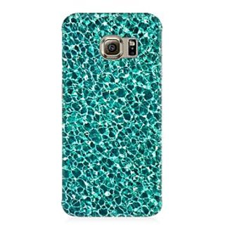 RAYITE Water Glitter Print Premium Printed Mobile Back Case Cover For Samsung S6 Edge G9250