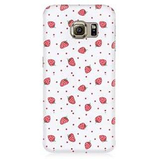 RAYITE Strawberry Hub Premium Printed Mobile Back Case Cover For Samsung S7 Edge