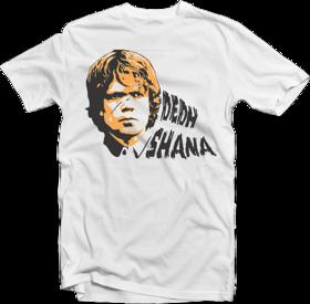 Enquotism Men's White Round Neck T-Shirt