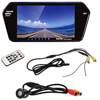 RWT 7 Inch Car Video Monitor With Rear View Night Vision Camera For Nissan Micra