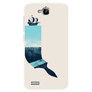 HACHI Premium Printed Cool Case Mobile Cover For Huawei Honor Holly