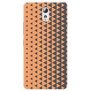 HACHI Premium Printed Cool Case Mobile Cover For Lenovo Vibe P1m