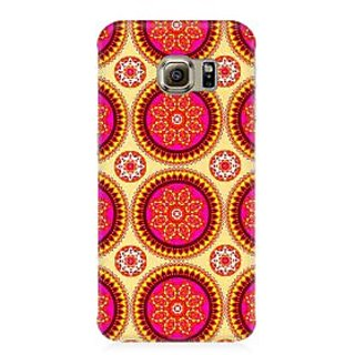 RAYITE Mandala Pattern Premium Printed Mobile Back Case Cover For Samsung S7