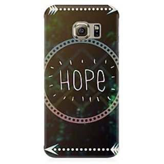 RAYITE Hope Premium Printed Mobile Back Case Cover For Samsung S6 Edge Plus