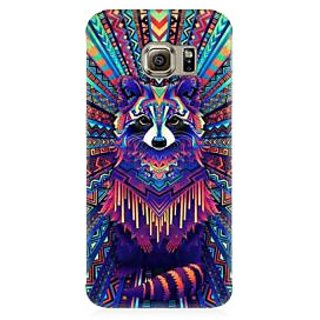 RAYITE Holy Geometrci Dog Premium Printed Mobile Back Case Cover For Samsung S6 Edge Plus