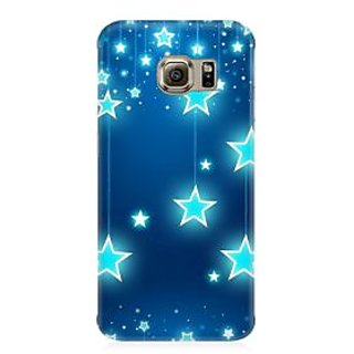 RAYITE Star Pattern Premium Printed Mobile Back Case Cover For Samsung S7 Edge