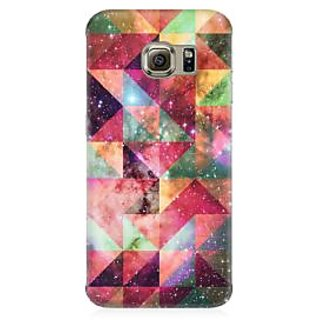 RAYITE Geometric Galaxy Art Premium Printed Mobile Back Case Cover For Samsung S6 Edge G9250