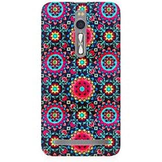 RAYITE Beautiful Mandala Pattern Premium Printed Mobile Back Case Cover For Asus Zenfone 2