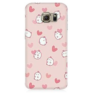 RAYITE Cute Puppy Toon Premium Printed Mobile Back Case Cover For Samsung S7