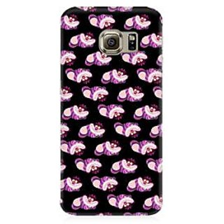 RAYITE Cute Toons Pattern Premium Printed Mobile Back Case Cover For Samsung S7 Edge