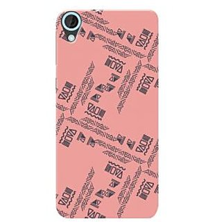 HACHI Premium Printed Cool Case Mobile Cover For HTC Desire 820G+