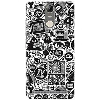 HACHI Premium Printed Cool Case Mobile Cover For Lenovo K5 Note