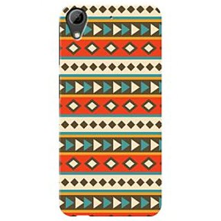 HACHI Premium Printed Cool Case Mobile Cover For HTC Desire 626