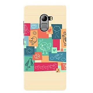 HACHI Premium Printed Cool Case Mobile Cover For Lenovo Vibe K4 Note