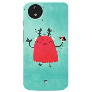 HACHI Premium Printed Cool Case Mobile Cover For Micromax Android A1