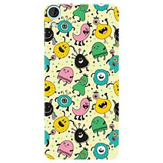 HACHI Premium Printed Cool Case Mobile Cover For HTC Desire 826