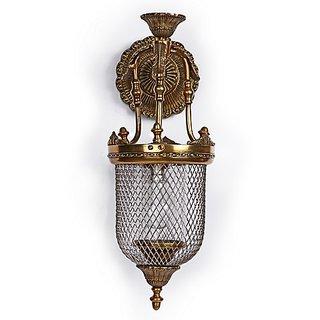 Fos Lighting Lattice Portuguese Jar Wall Sconce