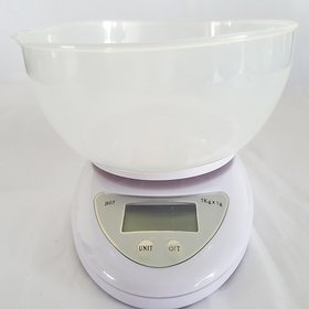 Satya Imported Weighing Scale 5kgs Display Units In Kg,Oz,Lb, With Measure Bowl