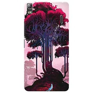 HACHI Premium Printed Cool Case Mobile Cover For Lenovo A7000