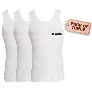 Amul macho lining vest 3 piece set