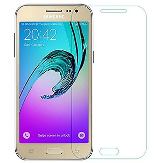 Tempered Glass Screen Guard For Samsung Galaxy J2-2015