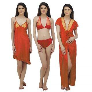 6207e4fd5cd Buy Arlopa 4 Piece Nightwear Set Online - Get 67% Off