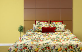 Cotton Quilted Bed Cover