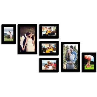 Swadesistuff MDF Photo Frame  (Photo Size - 5 frame  4x6 inch, 2 frame  6x10 inch, 7 Photos)