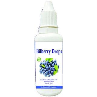 Hawaiian herbal bilberry drops