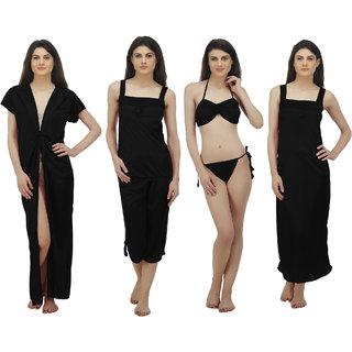 4e288444fa3 Buy Arlopa 6 Pieces Nightwear Set in Satin Online - Get 74% Off