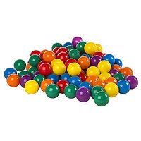 "Intex 3-1/8"" Fun Ballz - 100 Multi-Colored Plastic Ball"