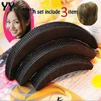 Combo Of Hair puff And Hair Donut( Set Of 4 pcs) hair accessories For hair styling