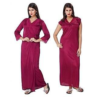 e4a763f315 Buy Womens Night Gown 1 Nightwear 1311 Blue Printed Kaftan Nightie ...