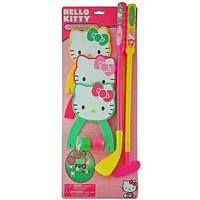 Hello Kitty ADORABLE Toy Golf Set For Indoor And Outdoo