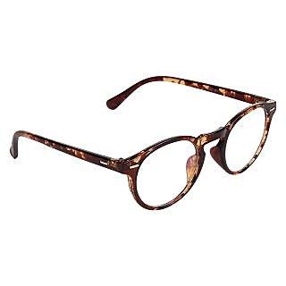 Zyaden Brown Round Eyewear Frame 203
