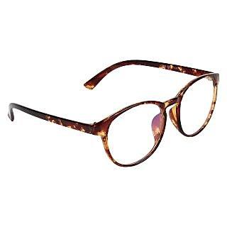 Zyaden Brown Round Eyewear Frame 204