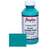 Angelus Leather Paint 4oz-Turquoise