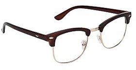 Zyaden Brown Clubmaster Eyewear Frame 183