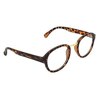 Zyaden Brown Round Eyewear Frame 178