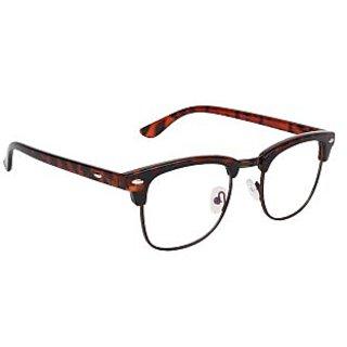 c08b4f56d54 Buy Zyaden Brown Clubmaster Eyewear Frame 186 Online - Get 73% Off